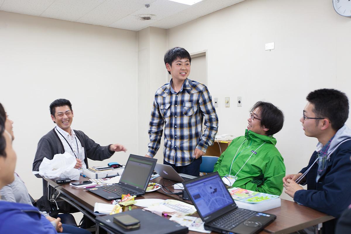 釜石のお店情報のマッピングイベント